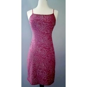 Vintage 90s Red Sparkly Holiday Dress